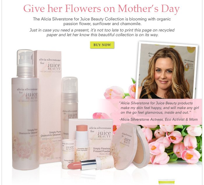 Give her Flowers on Mother's Day