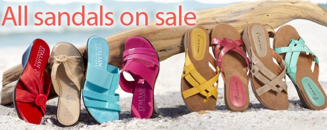 All Sandals on Sale!