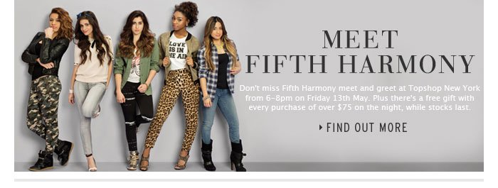 MEET FIFTH HARMONY - Find out more