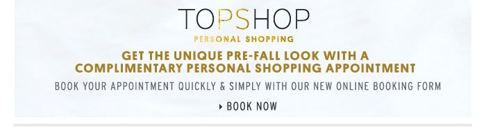 Personal Shopping - Book now