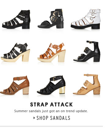 STRAP ATTACK - Shop Sandals