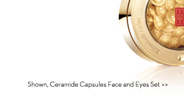 Shown, Ceramide Capsules Face and Eyes Set.