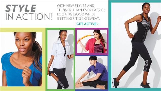 With new styles and thinner-than-ever fabrics, looking good while getting fit is no sweat.
