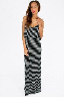Tier Stripe Maxi Dress $35