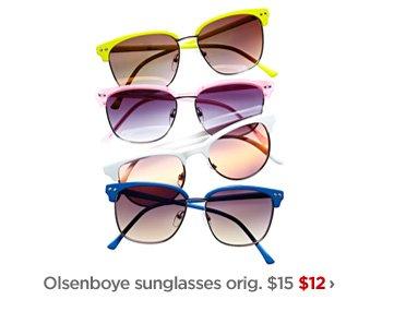 Olsenboye sunglasses orig. $15 $12 ›