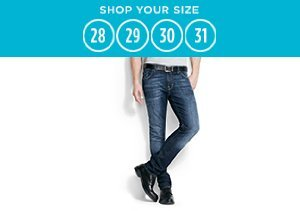 Shop Your Size: 28-31 Jeans & Chinos