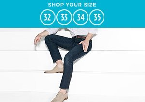 Shop Your Size: 32-35 Jeans & Chinos