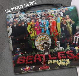 THE BEATLES TIN TOTE