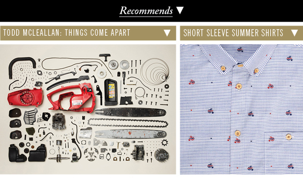 Ben Sherman Recommends