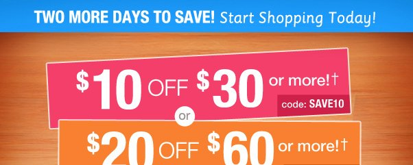Hurry - Save Your Way!