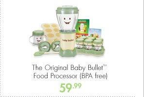 The Original Baby Bullet™ Food Processor (BPA free) 59.99