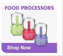 FOOD PROCESSORS Shop Now