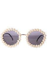 The Flinstones Sunglasses in Fresh Water Pearls