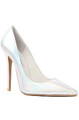 The Darling Shoe in Silver Hologram