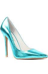 The Darling Shoe in Metallic Teal (Exclusive)