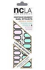 The NCLA x Nailing Hollywood Orbit Ring Nail Wrap