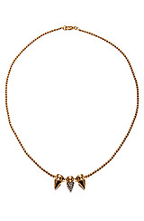 The Metal Mix Spiked Pendant Necklace