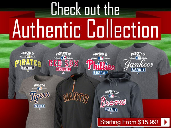 Check out the Authentic Collection