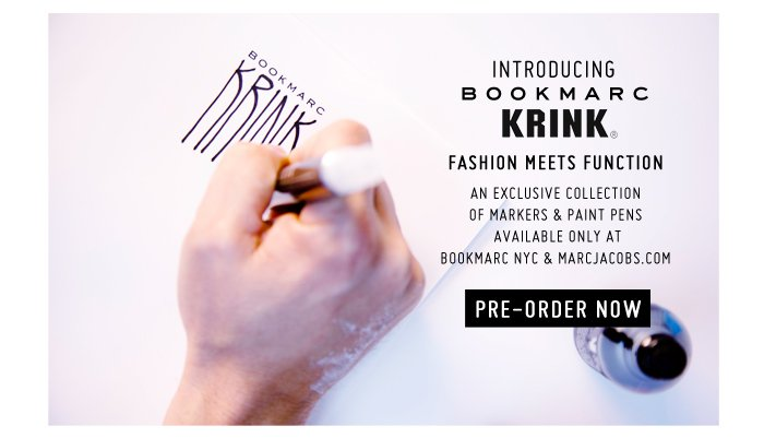 Marc Jacobs | Bookmarc x Krink