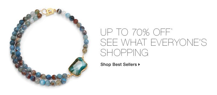 Up To 70% Off* See What Everyone's Shopping