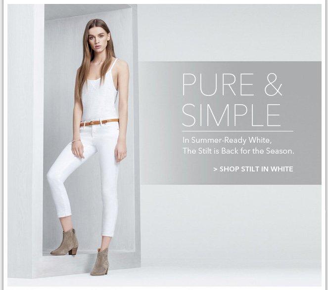 Shop Stilt in White