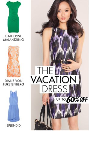 THE VACATION DRESS UP TO 60% OFF