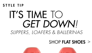 FLAT SHOES 60% OFF