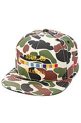 The Kill Em All Hat in Duck Camo