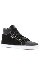 The Linden Sneaker in Black & White