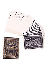 The Monarchs Playing Cards in Black