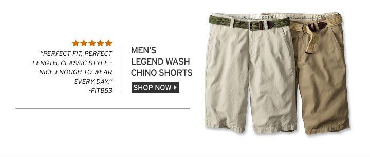 Legend Wash Chino Shorts