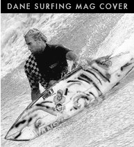 Dane on Cover of Surfer Mag