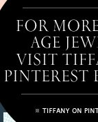 For more Jazz Age jewels, visit Tiffany's Pinterest board. - TIFFANY ON PINTEREST