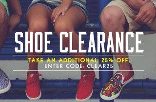 Shoe Clearance