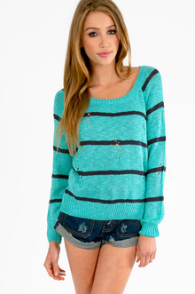 COLLEGE RULED SWEATER 36