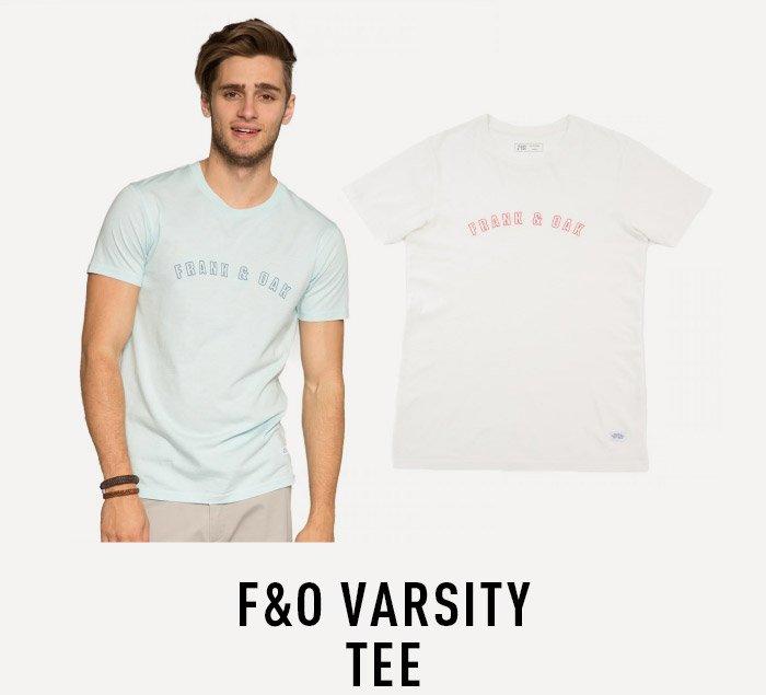F&O Varsity Tee
