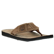 Earthkeepers® Leather/Fabric Thong Sandal
