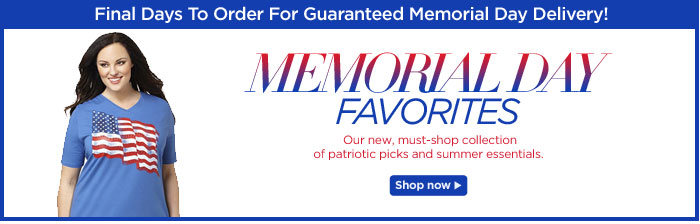 Shop our Memorial Day Favorites