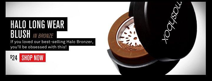 Halo Long Wear Blush in Bronze