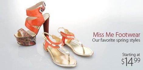 Miss Me footwear