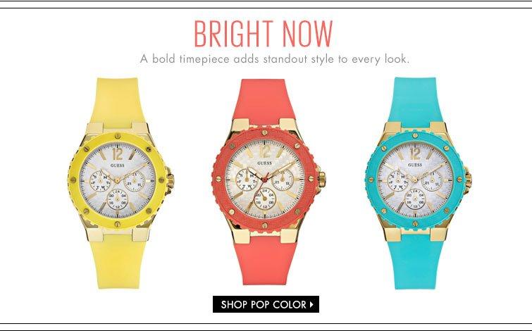 Shop Pop Color Watches