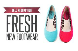 Sole Redemption: Hot New Footwear