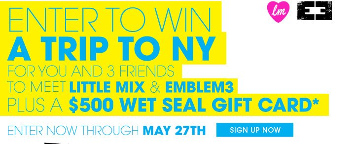 Enter To Win A Trip To NYC