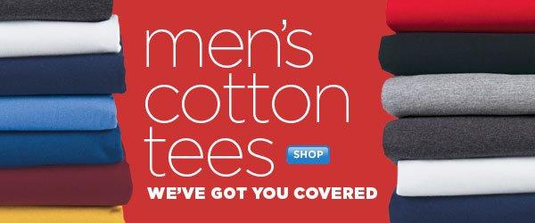 SHOP Men's Cotton Tees