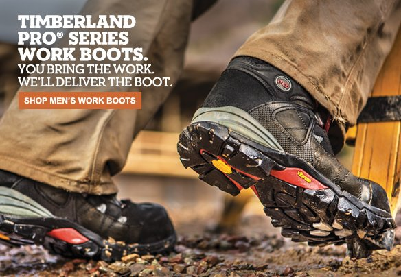 Timberland PRO® Series Work Boots. You bring the work. We'll deliver the boot. Shop Men's Work Boots