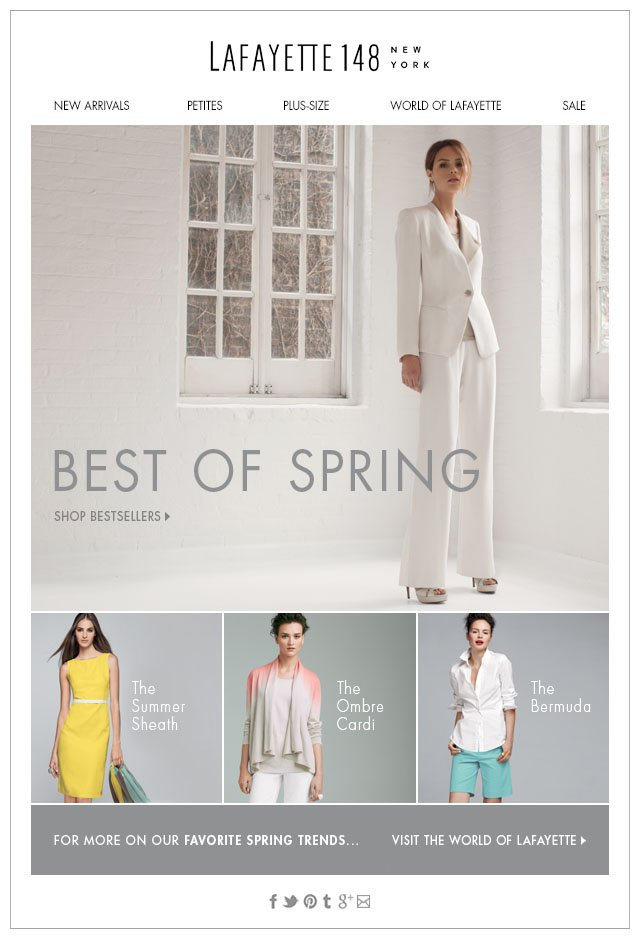 Best of Spring: Top Sellers