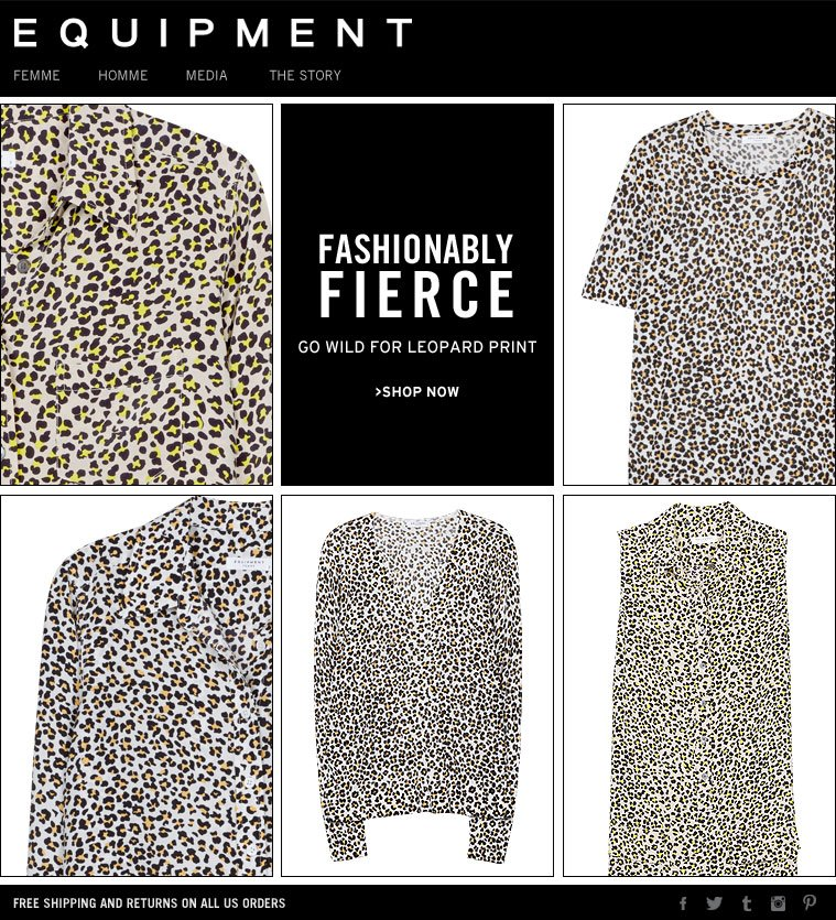 FASHIONABLY FIERCE GO WILD FOR LEOPARD PRINT >SHOP NOW