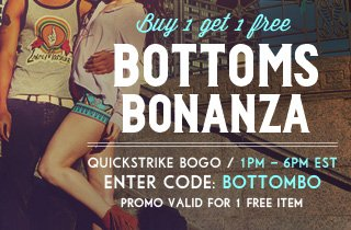 Bottoms Bonanza