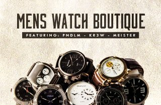 Men's Watch Boutique