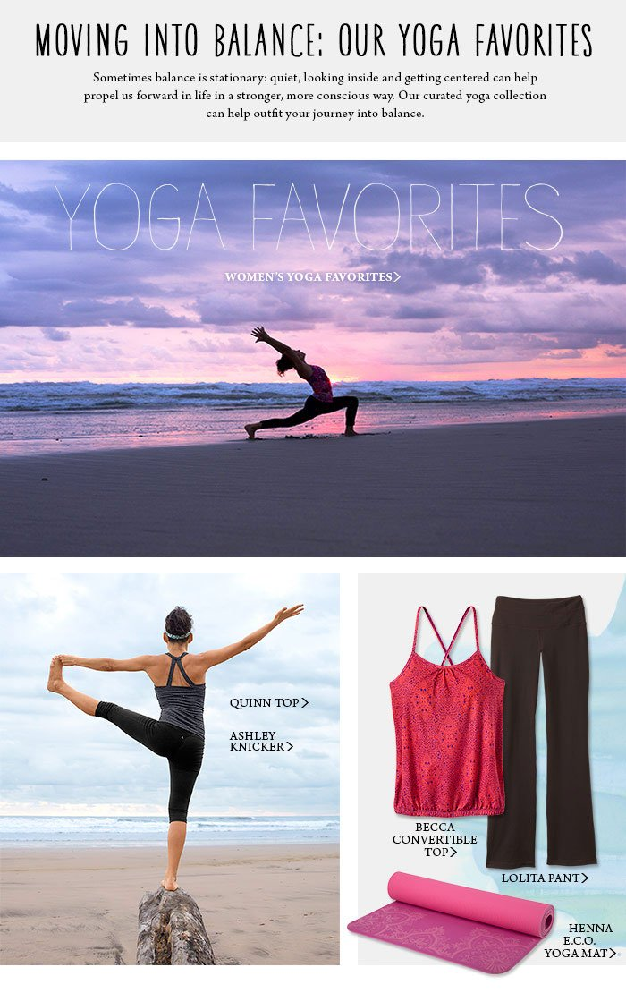 Women's Yoga Favorites